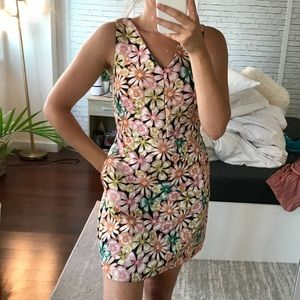Flower Business Casual Banana Republic Dress